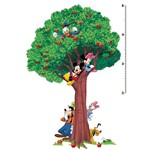Adesivo de Parede Mickey & Amigos Peel & Stick Growth Chart Roommates Marrom/Verde (101,6x45,7cm)