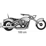 Adesivo de Parede Moto Motocicleta Quarto Sala Decoração