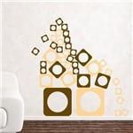 Adesivo de Parede - Quadrados em Equilibrio - N8024