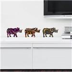 Adesivo de Parede - Rinocerontes - N7201