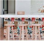 Adesivo de Parede Rótulos Café 44cm X 3 Metros Grudado Adesivos