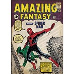 Adesivo de Parede Spider-Man Issue #1 Comic Cover Giant Wall Decal Roommates Colorido (46x12,8x2,8cm)