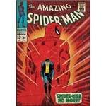 Adesivo de Parede Spider-Man Walking Away Comic Cover Giant Wall Decal Roommates Vermelho/Azul (46x12,8x2,8cm)