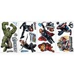 Adesivo de Parede The Avengers Wall Decals Roommates Colorido (46x12,8x2,8cm)