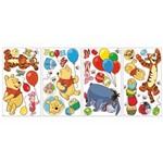 Adesivo de Parede Winnie The Pooh Pooh & Friends Roommates Colorido (25,4x45,7cm)