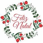 Adesivo de Porta Decoração Natal Guirlanda