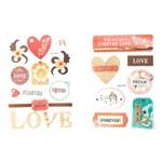 Adesivo Decorativo Amor Ad107 Toke e Crie