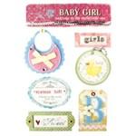 Adesivo Decorativo Bebês Ad1205 Toke e Crie