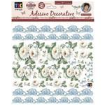 Adesivo Decorativo Crisantemos Branco By Mamiko TDM23 20649