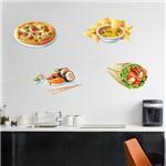 Adesivo Decorativo de Cozinha - Comidas - N7210