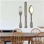 Adesivo Decorativo de Cozinha - Talheres - N4206