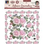 Adesivo Decorativo Rosas By Mamiko TDM07 19801