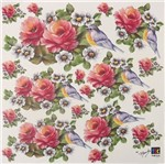 Adesivo Decorativo Rosas Delicadas TDM-011 - Toke e Crie By Mamiko