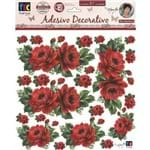 Adesivo Decorativo Rosas Vermelhas By Mamiko TDM05