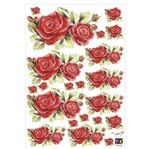 Adesivo Decorativo Toke e Crie TDM-033 Rosas Colombianas By Mamiko