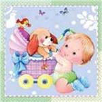 Adesivo Decoupage Bebê Lax-164 - Litocart