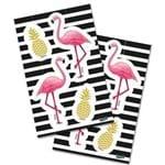 Adesivo Especial Let's Flamingo com 16 Un.