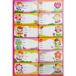 Adesivo Etiquetas Puffy Fadas Ad1556 - Toke e Crie