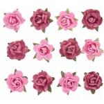 Adesivo Flor Mini Pink Ad1187 Toke e Crie