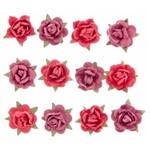 Adesivo Flor Mini Vermelha Ad1191 Toke e Crie