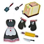 Adesivo FM C/Glitter Cozinha AD1339 Toke e Crie