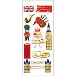 Adesivo Fofinho Inglaterra Londres Ad1666 - Toke e Crie