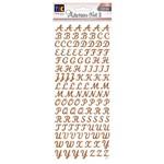 Adesivo Foil Ii Toke e Crie Alfabeto Rosê Maiúsculo Ad1895 20685