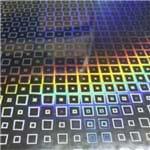 Adesivo Holográfico Quadrado