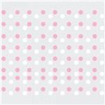 Adesivo Infantil Bolinhas Rosa e Branco-144un