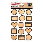 Adesivo Kraft Amor Ad1614 - Toke e Crie