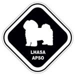 Adesivo Lhasa Apso