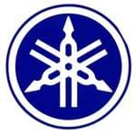 Adesivo Logo YAMAHA AZUL - ÚNICO