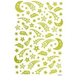 Adesivo Luminoso Estrela Cadente Ad6547 - Toke e Crie