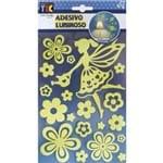 Adesivo Luminoso Fada e Flores Ad1281 Tec