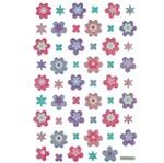 Adesivo Mini Puffy Flores Ad1763 - Toke e Crie