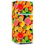 Adesivo para Envelopamento de Geladeira Salada de Frutas