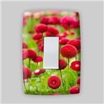 Adesivo para Espelho de Tomada ou Interruptor - Floral 2