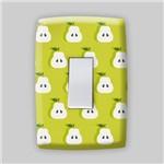 Adesivo para Espelho de Tomada ou Interruptor - Frutas - Pera