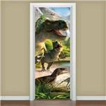 Adesivo para Porta Dinossauros 02
