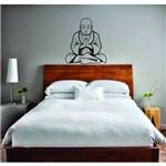 Adesivo Parede Buda Zen Decoração Quarto Sala Relaxar Lar