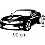 Adesivo Parede Carro Camaro Infantil Quarto