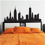 Adesivo Parede Quarto Cidade New York