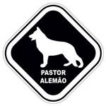 Adesivo Pastor Alemão