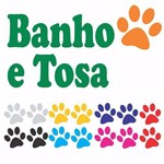 Adesivo Pet Shop Banho Tosa Cachorro