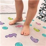 Adesivo Piso Banheiro Antiderrapante Infantil Baleia 14 Un