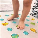 Adesivo Piso Banheiro Antiderrapante Infantil Peixinho