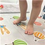 Adesivo Piso de Banheiro Antiderrapante Baloes Infantil 14un