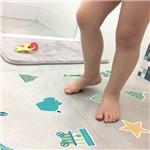 Adesivo Piso de Banheiro Antiderrapante Circo Infantil 16un