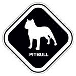 Adesivo Pitbull