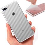 Adesivo Protetor Traseiro para Celular - Skin Carbon Fiber - Transparente - LG LG G5